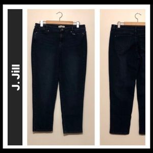 J. Jill 5-pocket Slim Boyfriend Straight Leg Jeans